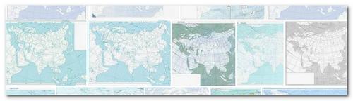 Контурная карта европы контурная
