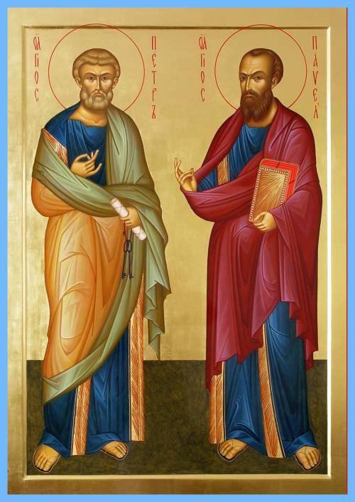 Славные первоверховные апостолы Петр и Павел