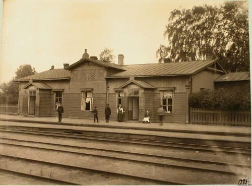 Станция Струги-Белая