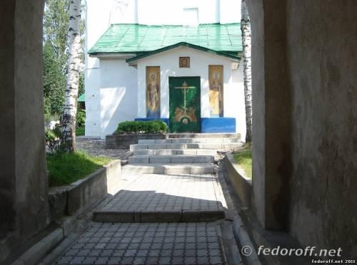 Псков. Храм Елены и Константина.